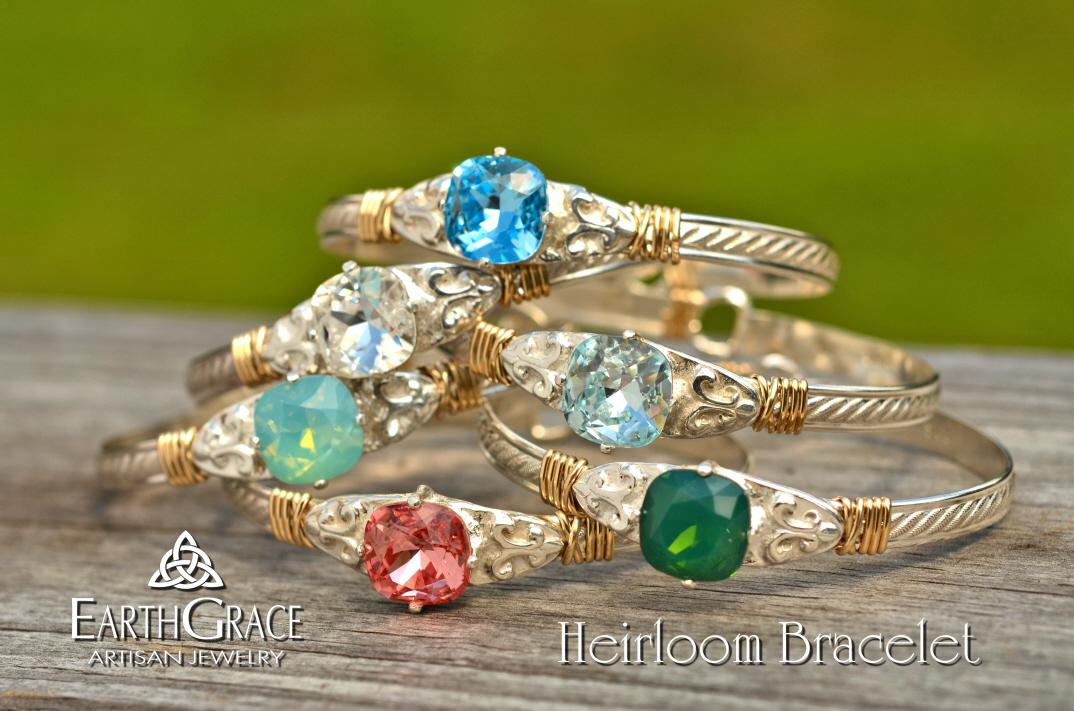 Earth Grace The Heirloom Bracelet Flintski Jewelry